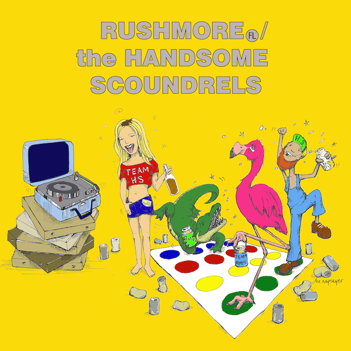 RUSHMORE HANDSOME SCOUNDRELS RECORD PLAYERv2
